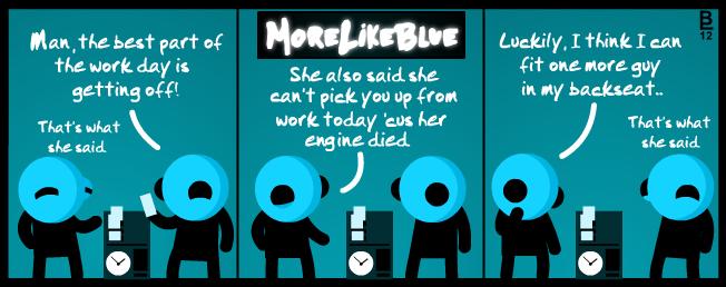 MoreLikeBlue: Work by MrGobi