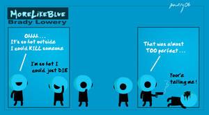 MoreLikeBlue: Hot