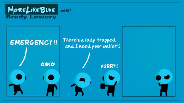 MoreLikeBlue: Wallet