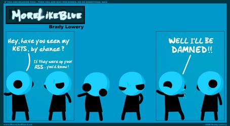 MoreLikeBlue: Keys by MrGobi