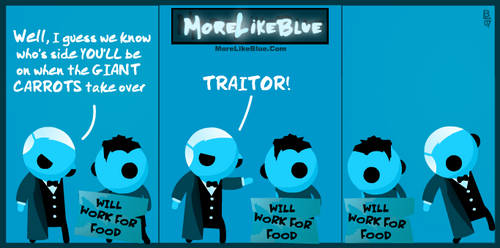 MoreLikeBlue: Food by MrGobi