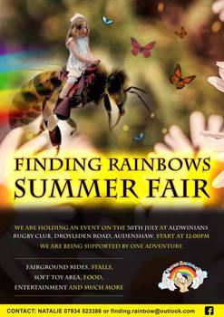 Finding rainbows summer fair
