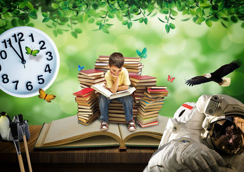 Image for a Book Club Leaflet