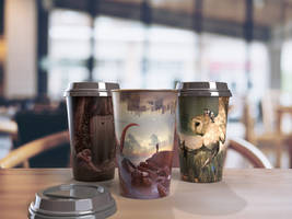 Trendy Coffee Cups