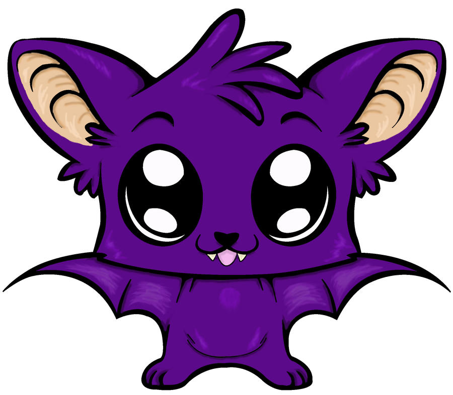 chibi bat colored by ookami moon23 on deviantart black and white pumpkin clip art bees black and white pumpkins clipart
