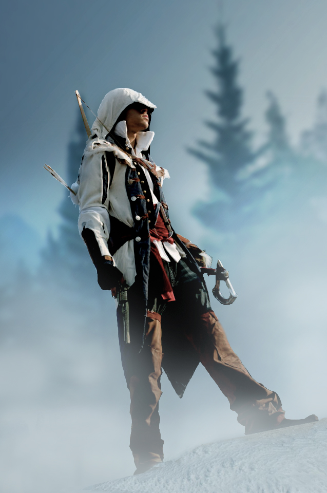 Assassins Creed III: Connor by Winged-Mouz