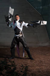 Lucian The Purifier Cosplay: Hi-Res by Winged-Mouz