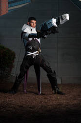 Lucian The Purifier Cosplay: Hi-Res 3 by Winged-Mouz