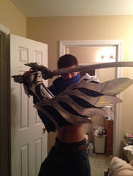 Yasuo The Unforgiven Cosplay Progress #2 by Winged-Mouz
