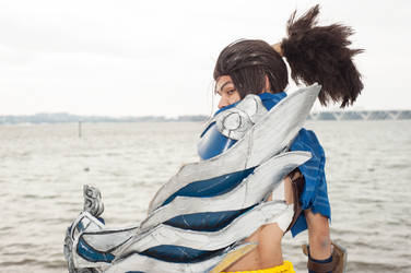 Yasuo The Unforgiven: Face the Wind by Winged-Mouz