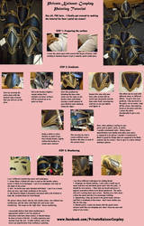 Cosplay Painting and Weathering Tutorial by Winged-Mouz