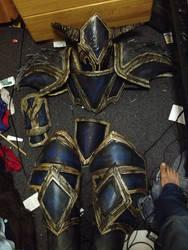 Dragonslayer Pantheon Progress: Armor done! by Winged-Mouz