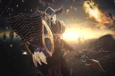 Dragonslayer Pantheon Cosplay by Winged-Mouz
