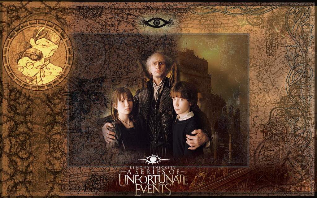 A Series Of Unfortunate Events Wallpaper: Series Of Unfortunate Events By LazarusDrealm On DeviantArt
