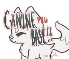 Chibi Canine P2U Base! by SetSaiI