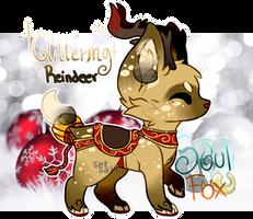 [SoulFox X-Mas AC] Day 09 : Glittering Reindeer by SetSaiI