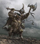Orc Quest - Gnoll War-Chief - (c) Maze Games