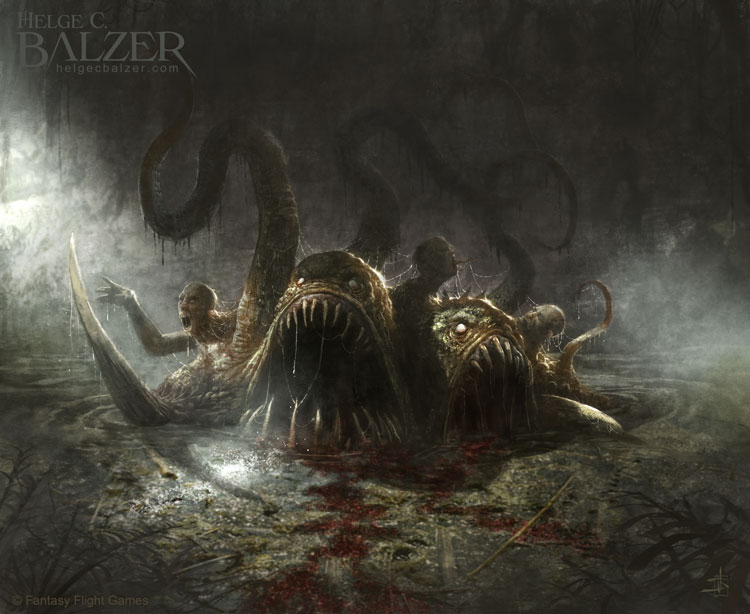 Out Of The Depth - Fantasy Art by Helge C. Balzer