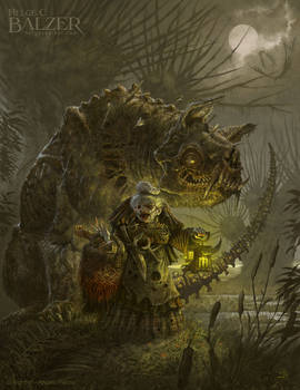 Swamp Witch - Fantasy Art by Helge C. Balzer