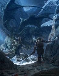 Dead Dragon - Fantasy Art by Helge C. Balzer
