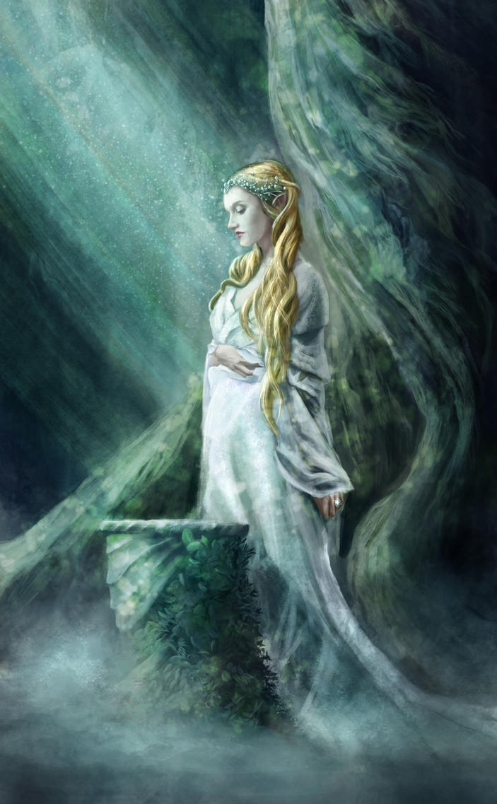 The Mirror Of Galadriel by Holmes-JA