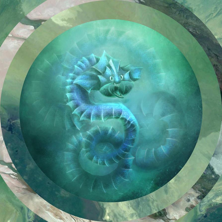 The sea dragon by Holmes-JA