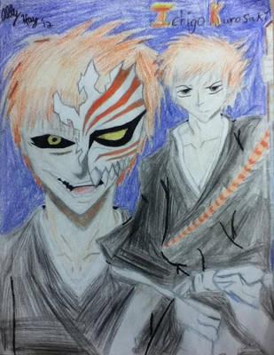 Ichigo from Bleach by HybridCatgirl995