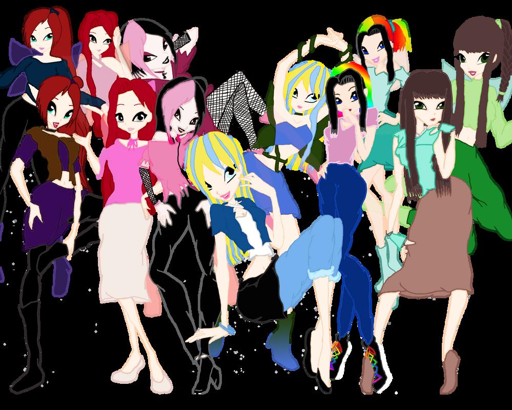 Whole group by HybridCatgirl995