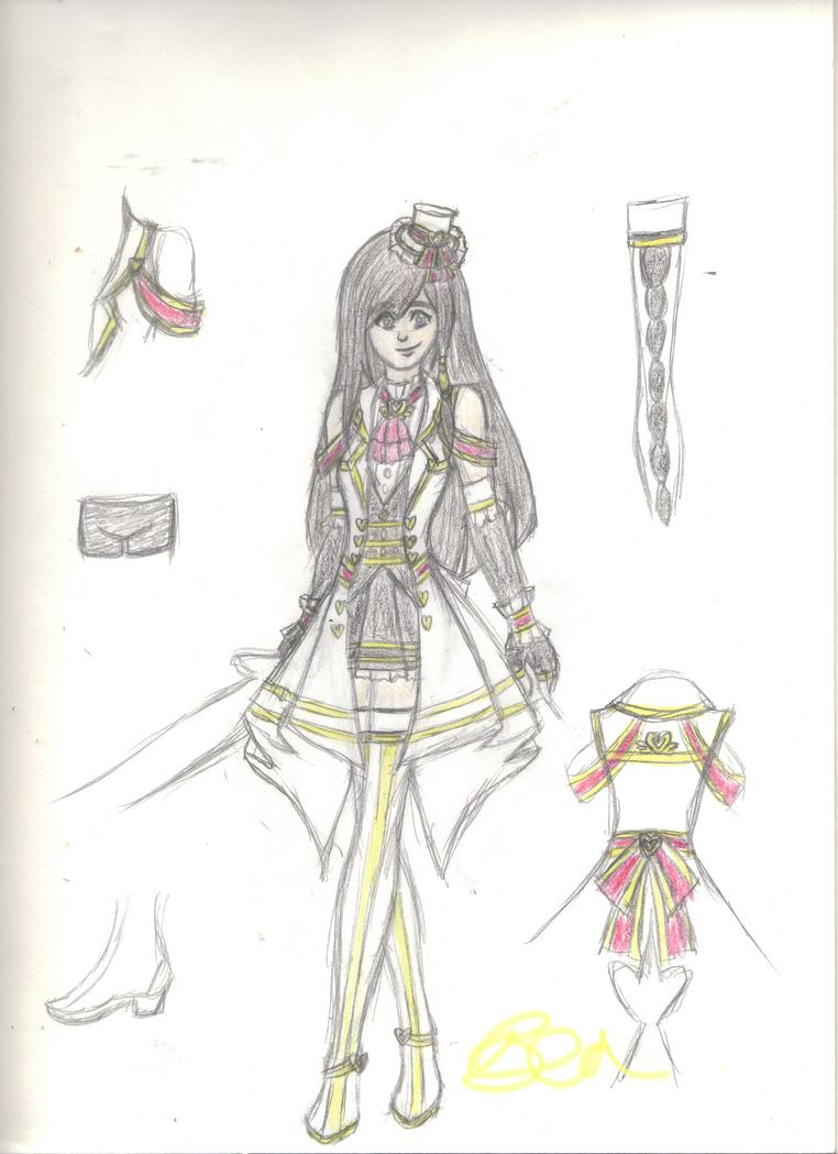 Kokoro Megami -Rising Heart by DOAPersonafan123