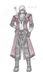 Dante Costume #1 -Devil Hunter