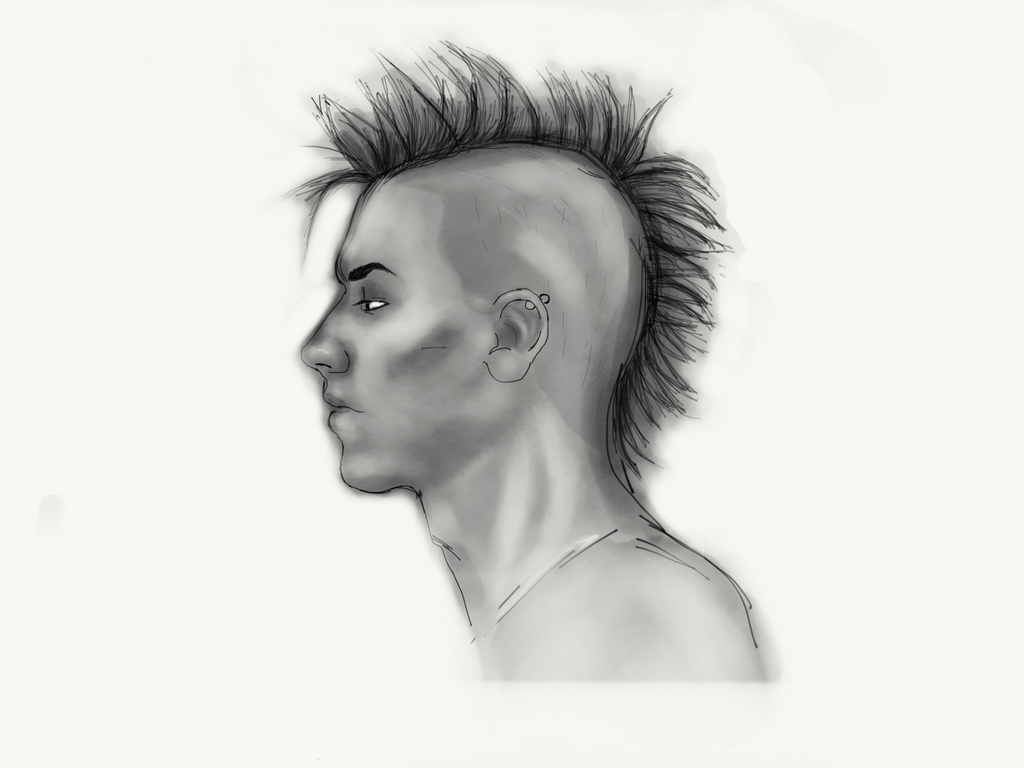 The Mohawk  by Bannakoot