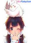Tamako Market Kawaii girl render