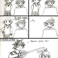By the way, Riku. . . by orcapotter