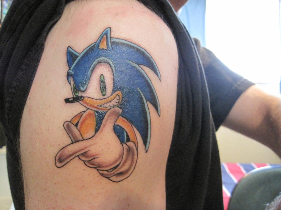 Sonic The Hedgehog Tattoo By Scott Ko On Deviantart