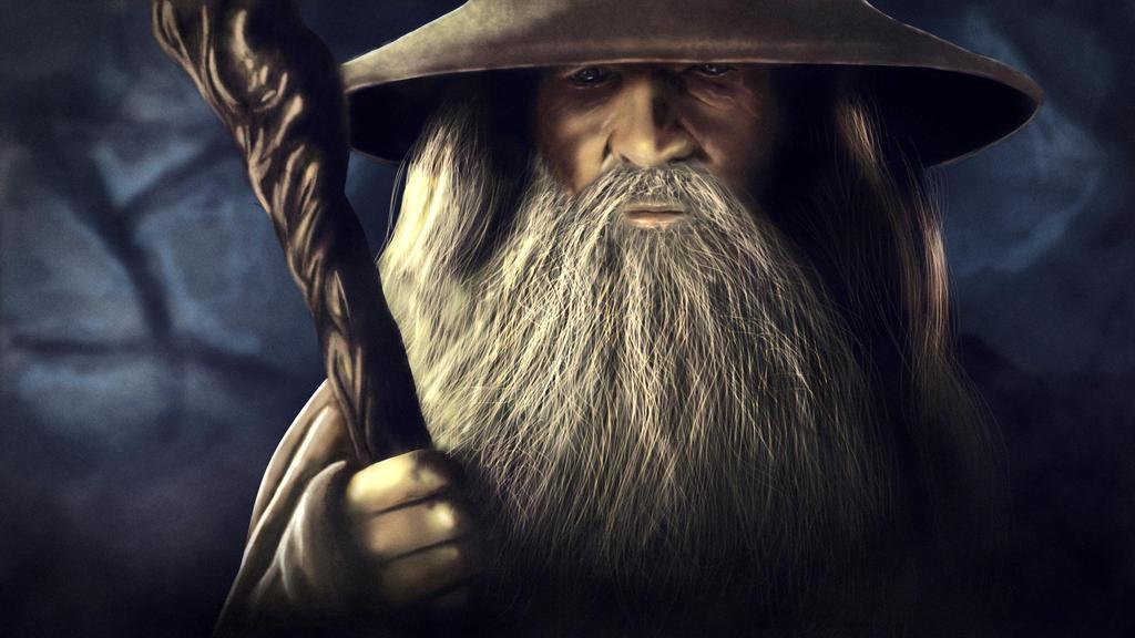 Gandalf by ludovitNASTISIN