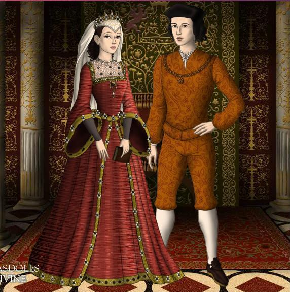 king ferdinand ii and queen isabella by jjulie98-d4gz4v1 jpgKing Ferdinand And Queen Isabella Castle