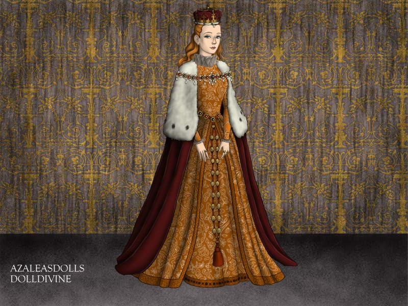 Queen Elizabeth I Coronation  Young Queen Elizabeth 1 Dress