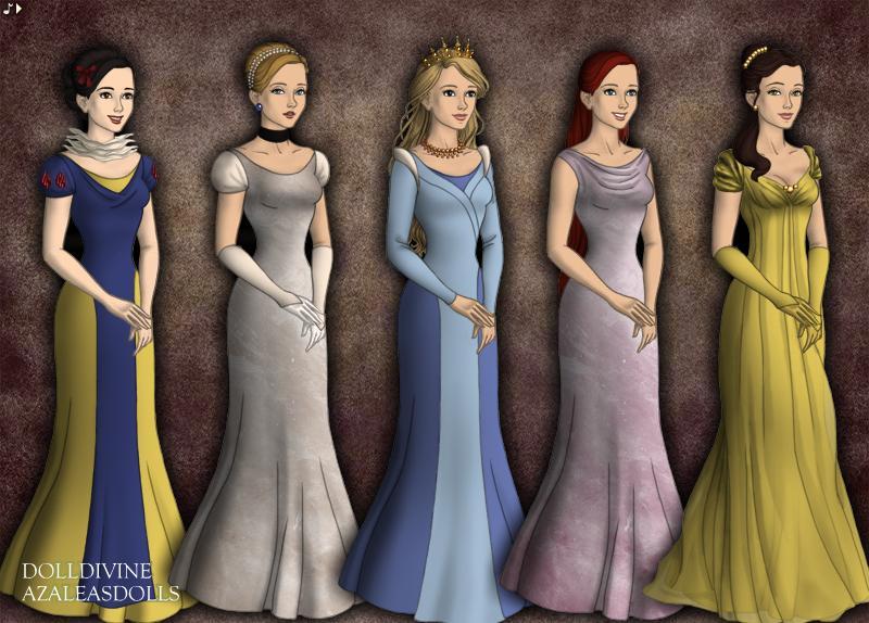 Disney Princesses (Game of Thrones) by jjulie98