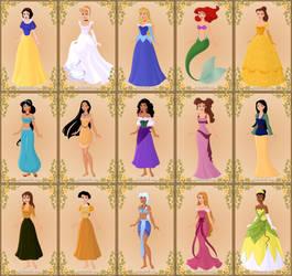 Disney Princesses (game complete) by jjulie98