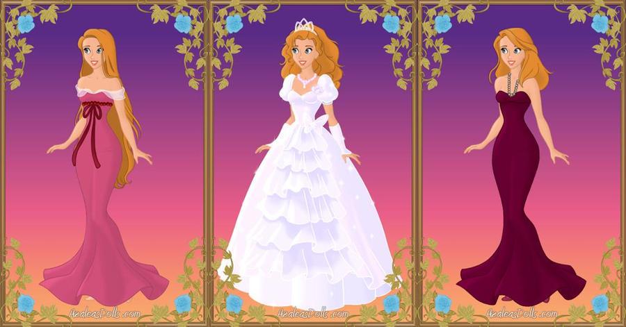 Giselle by jjulie98 on deviantart for Anime wedding dress up games