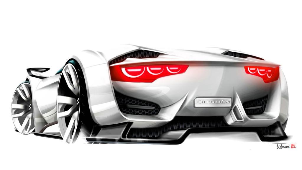 citroen concept car design by takumi by viberwaves on. Black Bedroom Furniture Sets. Home Design Ideas