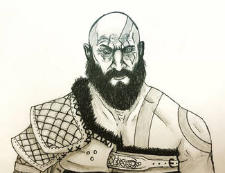 Kratos by taylergrey