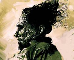 Charles Bukowski by Masked-Scaramouche