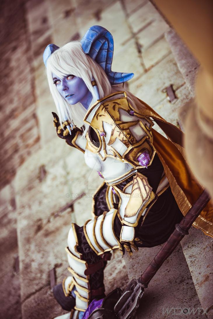 Yrel Draenei Wow Warcraft Cosplay Picturesque Wwwpicturesbosscom