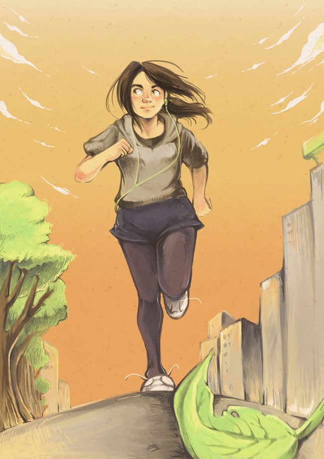 Jogging by mallary