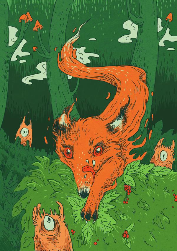 Stefan the fox by mallary