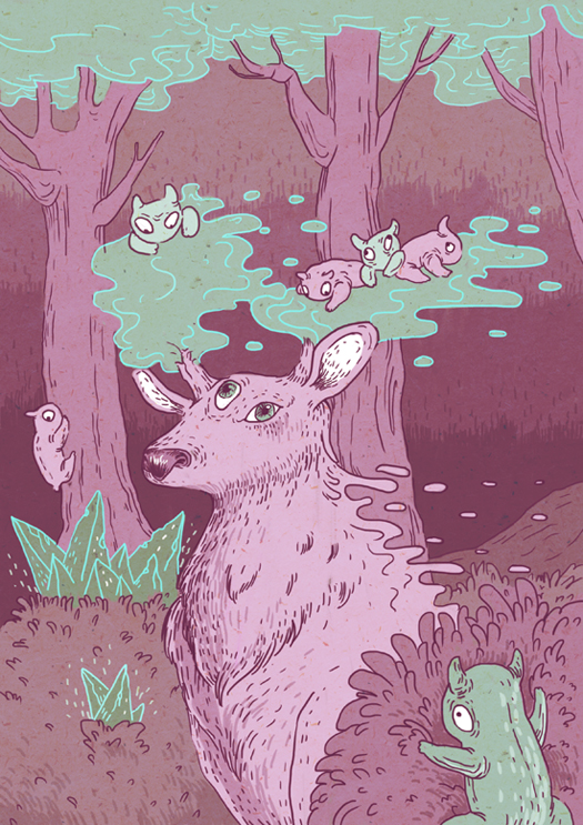 THE DEER by mallary