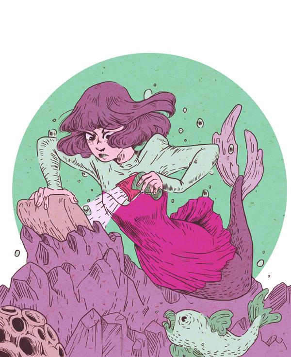 scifi mermaid by mallary