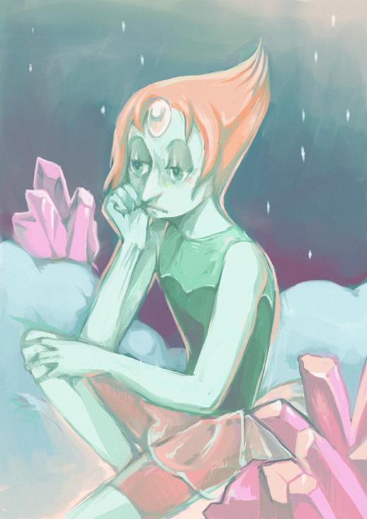 pearl su fanart by mallary