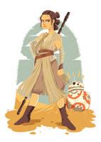 Rey by mallary